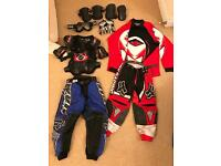 Motocross kids gear job lot