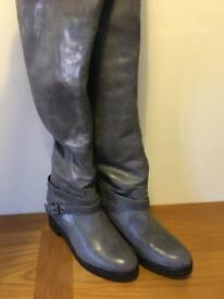 All Saints knee high boots size 6.5