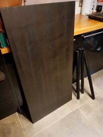 Ikea black table for sale