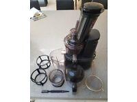 Jason Vale Juice Master Cold Press juicer for sale