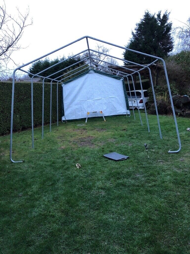 Clarke Portable Garage Tent 6.1x3.7x2.5m | in Mosborough ...