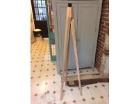 Habitat Tripod wooden floor lamp