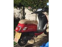 125cc scooter restricted to 50