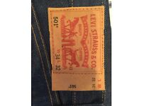 Levi's men jeans new with tag
