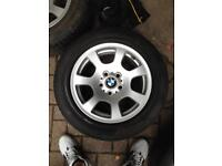 BMW 5 stud alloys mint condition