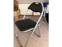 Folding desk chair or occasional chair