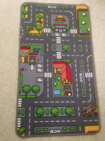 Reversible Kids Play Fun Rug 56x100cm
