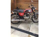 Honda cb200 classic (1977)