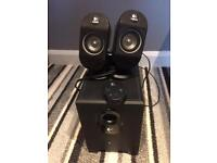 Logitech speakers for PC or with AUX cable
