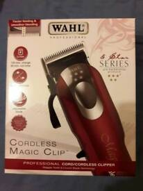 WAHL MAGIC CORDLESS CLIPPER