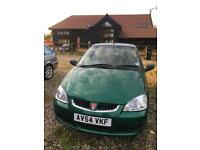 CITYROVER SELECT 1.4l ENGINE LOW MILEAGE WITH MOT TILL APRIL