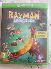 XBox One Rayman Legends game - brand new, in plastic packaging (unopened)