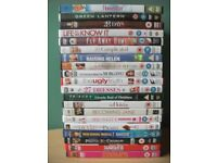 Lot of 20 DVDs meryl streep, disney, comedy, drama, family movies, anne hathaway, green lantern