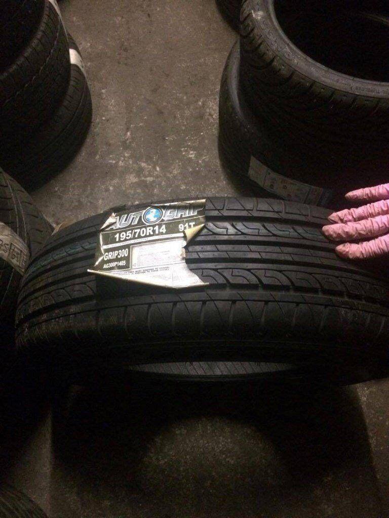 195/70/14 brand new tyres