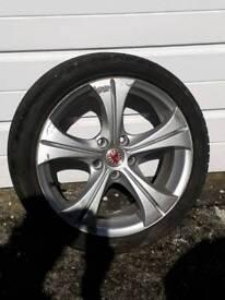 """17"""" Wolfrace Alloy wheels"""