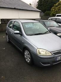 vauxhall corsa for sale 05 reg (kilmarnock)1 years mot sxi model alloys service cheap car