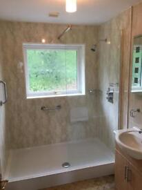NEW shower tray, screen and shower