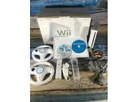 Nintendo Wii Boxed bundle Wii Sports Mario Kart Ready to Play Working