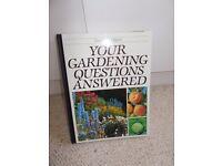 Bundle of gardening books