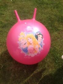 Disney princess bouncy hopper