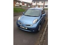Nissan Micra 2008. Brilliant condition and long mot