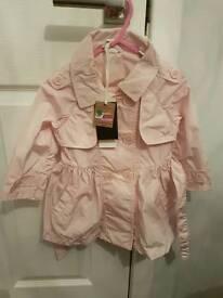 Girls Ido pink jacket