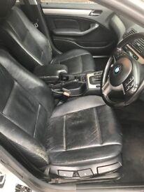 E46 BMW Touring/Estate leather interior seats