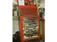 Snap on role cab tool box used