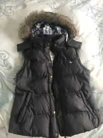 Women's jack wills Gillet size 10