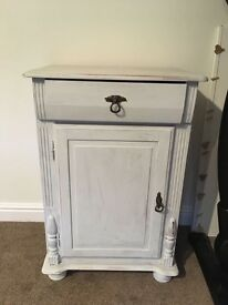 Grey bedside table for sale