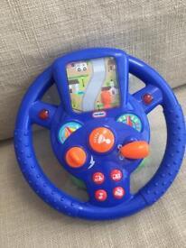 Steering wheel children's toys -ages 1-3