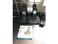 BT1500 Digital Cordless phones and answering machine