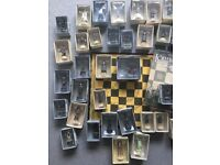 LORD OF THE RINGS Complete Chess Set 1. BRAND NEW, with board and magazines. Reduced,Quick sale£40