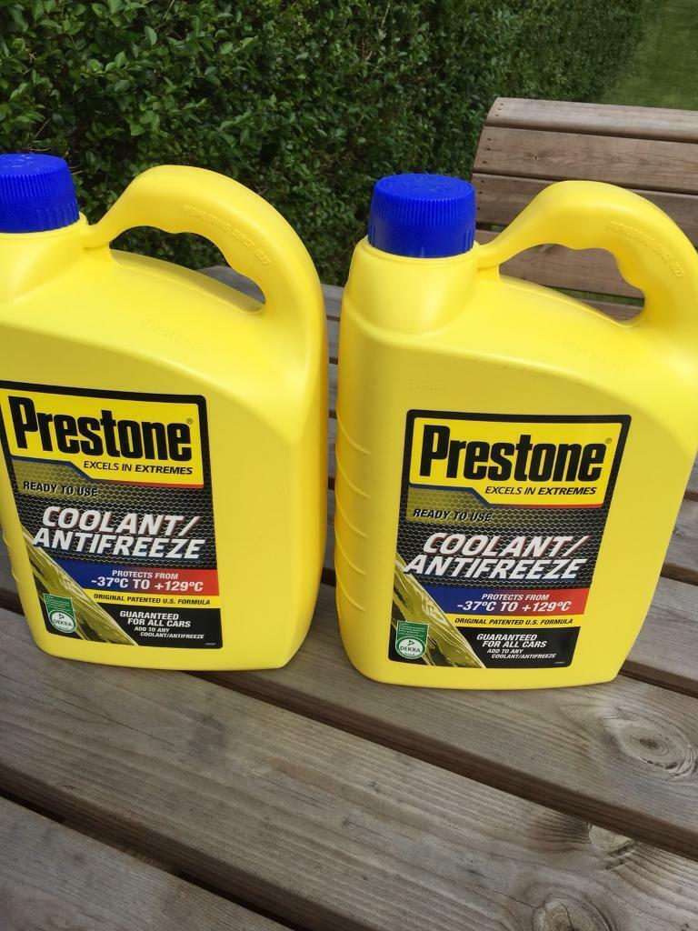 Prestone coolant/antifreeze, 4l, sealed | in Stenhouse, Edinburgh | Gumtree