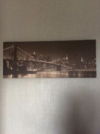 Bridge canvas picture