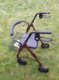 mobility walker/ comode
