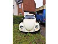 "CLASSIC VINTAGE ""VW BETTLE 1971-PETROL"" for SALE – Ideal PROJECT FOR A COLLECTOR / ENTHUSIAST"