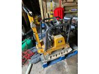Lumag diesel wacker plate compactor