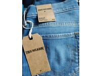 100% Authentic Halle Mid Rise Super Skinny True Religion Jeans £Rrp £205
