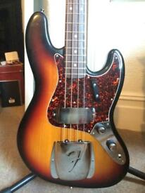 Fender USA Jazz Bass AVRI '62 Stack Knob