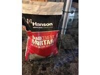 Hansons sand cement