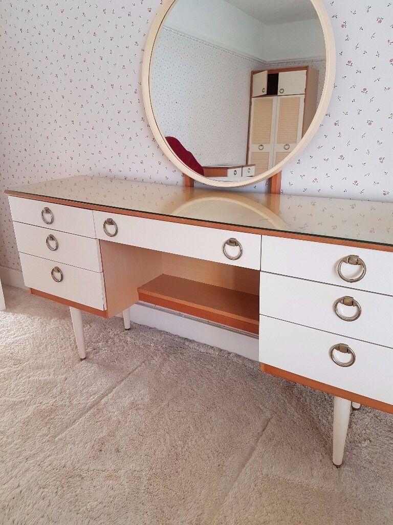 Schreiber Bedroom Furniture Reduced Retro Bedroom Furniture 1960s Schreiber Dressing Table And