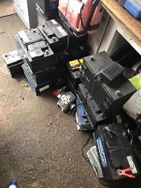 CAR AND VAN BATTERYS FOR SALE - 2ND HAND FULLY CHARGED