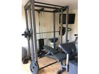 Multi gym Smith's machine