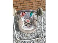 Baby swing. In brand new condition