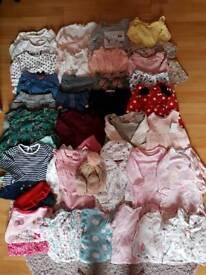 Girl clothes bundle age 3-6months