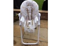 Mothercare highchair neutral