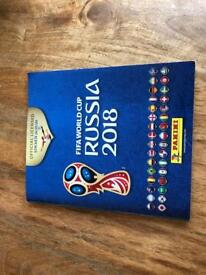 Russia 2018 World Cup complete sticker book