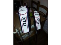 ☆awesome adams XTD driver and 5 wood ☆
