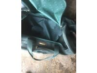 Holdall Green Canvas